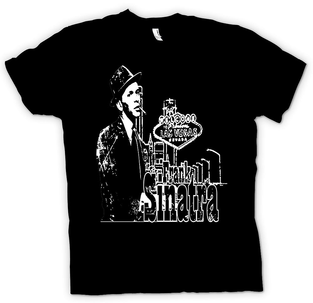 Womens T-shirt - Frank Sinatra Vegas - Swing - Icon
