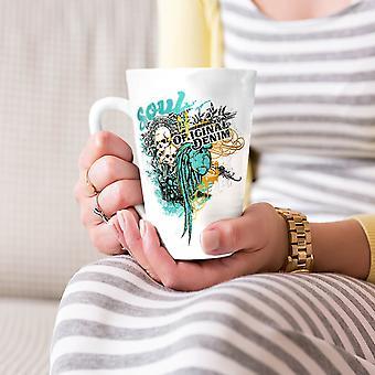 Original Art Dead Fashion NEW White Tea Coffee Ceramic Latte Mug 17 oz | Wellcoda
