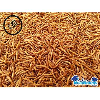 Getrocknete Mehlwürmer 2kg für Geflügel