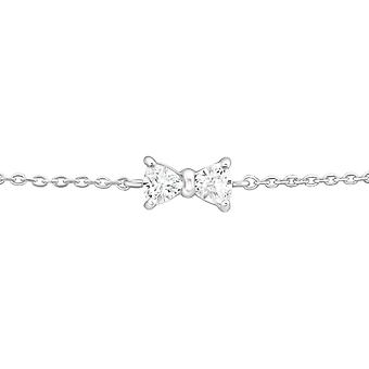 Bow - 925 Sterling Zilver ketting armbanden - W37096X