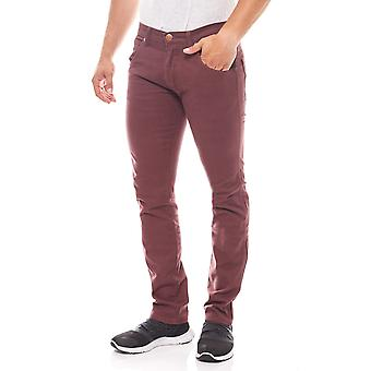 Wrangler jeans mens stretch trousers Spencer Red