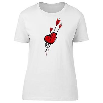 Heart And Arrows, Love, Red Tee Men's -Image by Shutterstock