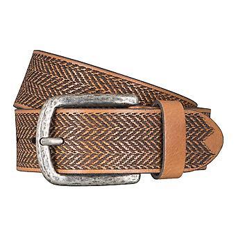 LLOYD Men's belt belts men's belts leather belt buff beige 5047