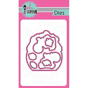 Pink And Main Dies-Nut House, 7/Pkg