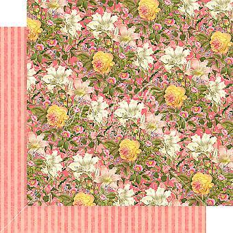 Floral Shoppe Double-Sided Cardstock 12