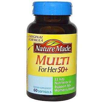 Nature Made Multi For Her 50+ Dietary Softgels