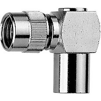 Coax adapter Mini UHF plug - FME plug Telegärtner J01048A0002 1 pc(s)