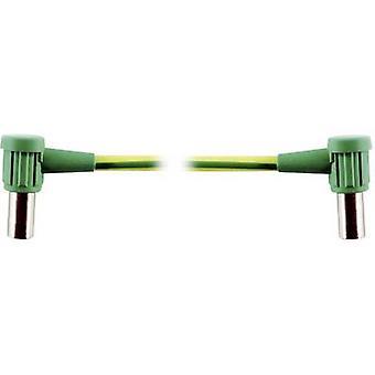 Connector 6 mm socket - 6 mm socket Green-yellow Stäubli MC-POAG-EC6/2 1 pc(s)