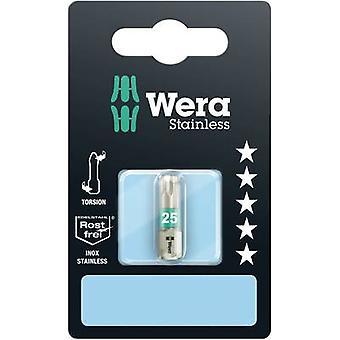 Torx bit T 10 Wera 3867/1 TS SB SiS Stainless steel D 6.3 1 pc(s)