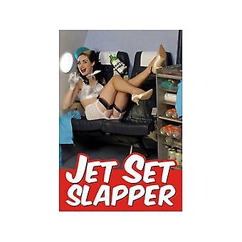 Jet Set Slapper lustige Kühlschrank Magnet