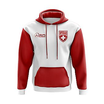Switzerland Concept Country Football Hoody (White)
