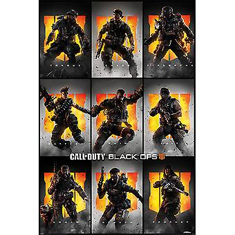 Call of duty black ops 4 characters