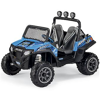 Peg Perego Polaris Ranger RZR 900 12v Jeep 2 Seater Blue
