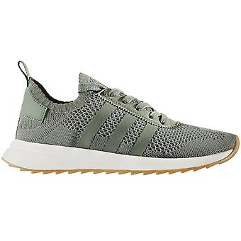 Adidas Originals Womens FLB W PK Lace Up Sneakers Trainer Freizeitschuhe - Green