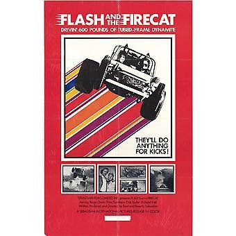 Flash & Firecat Movie Poster (11 x 17)