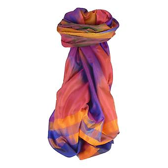 Varanasi Ekal Premium Silk Long Scarf Heritage Range Popat 4 by Pashmina & Silk