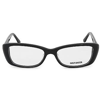 Harley Davidson Cat Eye Eyeglasses Frames HD0521 BLK 53