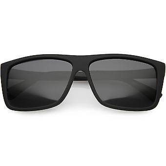 Acción de los hombres del deporte gran rectángulo plano gafas lente polarizada 59mm