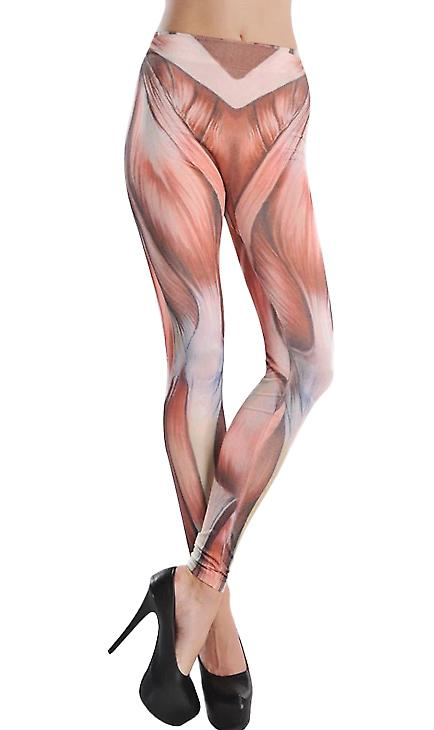 Waooh - Fashion - leggings stampa fantasia muscoli