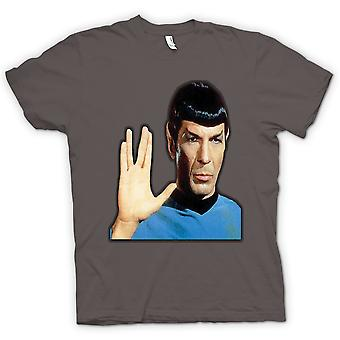 Dame T-shirt - hr. Spock - Star Trek