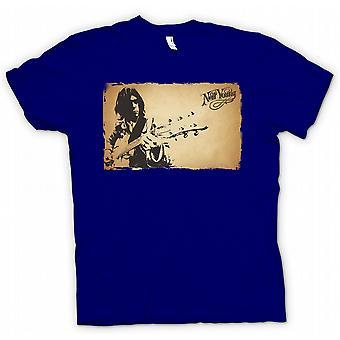 Womens T-shirt - Neil Young - Rock Legend
