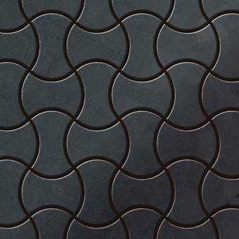 Metal mosaic Raw Steel ALLOY Infinit-RS