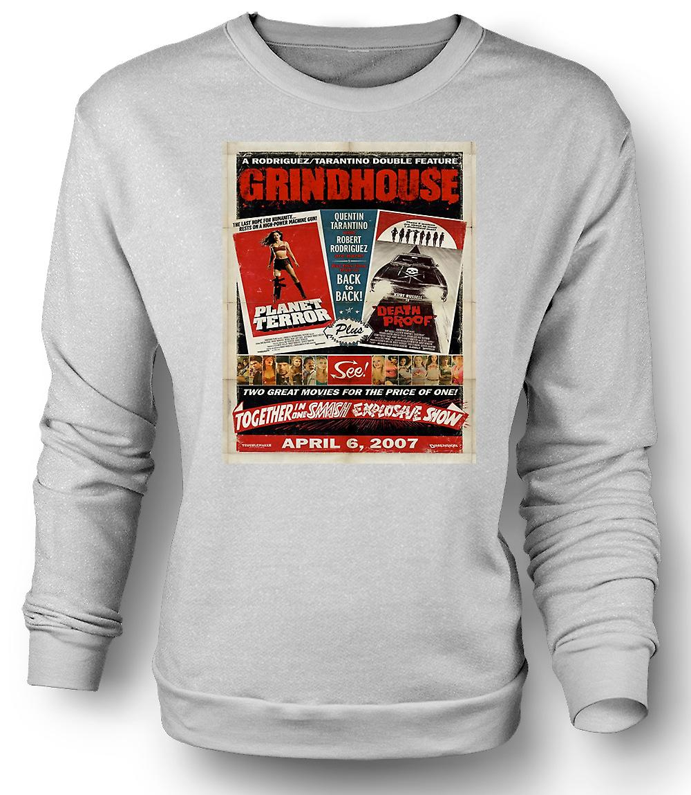 Mens Sweatshirt Grindhouse-Planet Terror / Death Proof