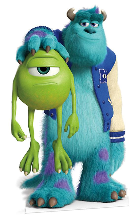 Sulley en Mike Levensgrote Kartonnen Uitsnede / Standee (Monsters University)