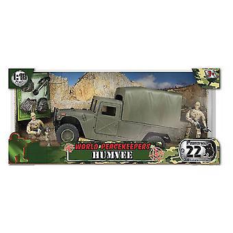 Świecie pokojowych transportu Humvee - figury, akcesoria