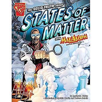 Fast sanningen om staterna av materia med Max Axiom, Super vetenskapsman (grafisk vetenskap)