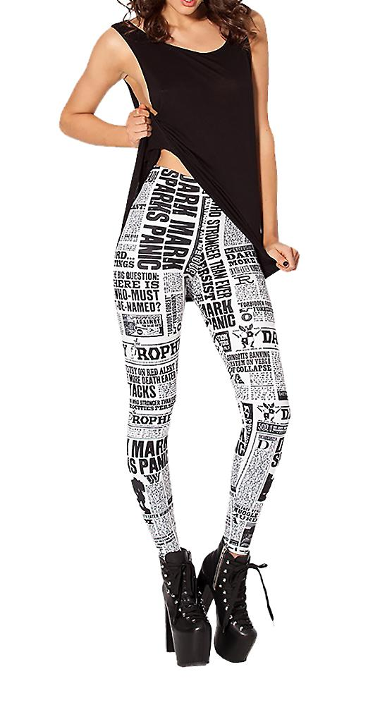 Waooh - Legging printed newspaper Baud