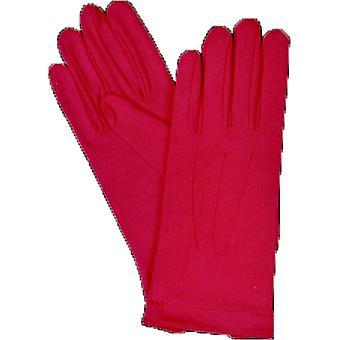 手袋ナイロン W スナップ ホット ピンク