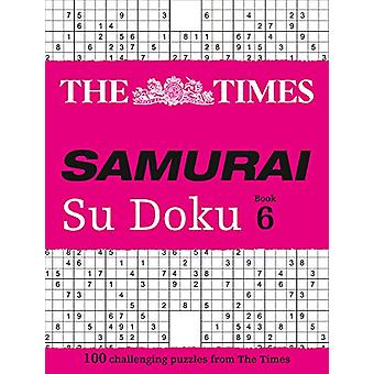 Czasów samurajów Su Doku 6-100 wyzwanie puzzle z The Times b