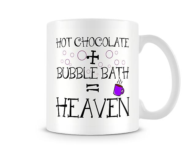 Hot Chocolate Bubble Bath = Heaven Mug