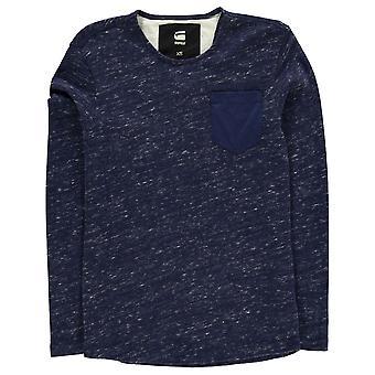 G Star Mens Dawch Long Sleeve Sweatshirt Crew Sweater T Shirt Top Jumper