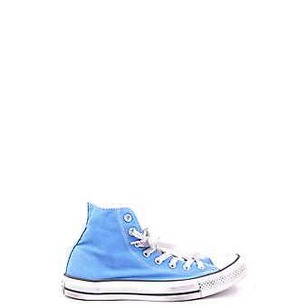 Converse Light Blue Fabric Hi Top Sneakers