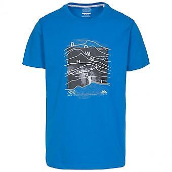Trespass Mens Downhill Short Sleeve Graphic T Shirt