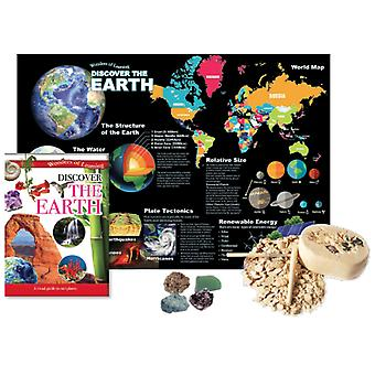 Wonders of Learning Discover Earth Tin Set