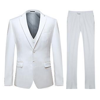 da0d58947269 Allthemen Men's Two-Button Single Split Suit 3-Piece Suit