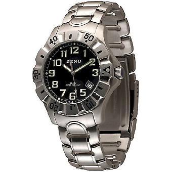 Zeno-watch mens watch sport diver quartz 154Q-a1M
