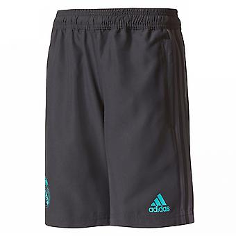 2017-2018 real Madrid Adidas Woven Shorts (Black)