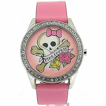 Pink Cookie Ladies-Girls Analogue Pink Dial & PU Strap Watch PCL-0011