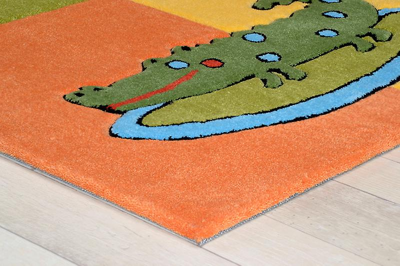 Tapis - Children 's \ animaux du zoo - 3210