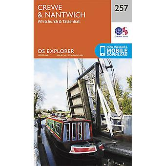 Crewe and Nantwich - Whitchurch and Tattenhall (September 2015 ed) by