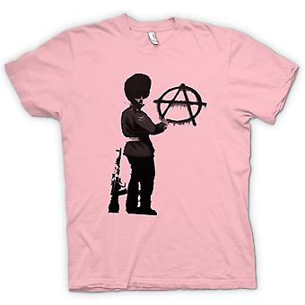 Kids T-shirt - Banksy Graffiti Art - Anarchy