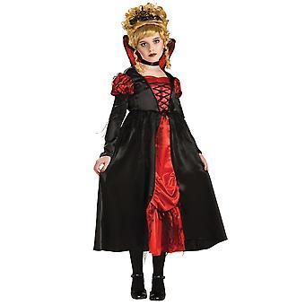 Vampiress Transilvânia Deluxe medieval gótico vampiro Halloween Girls costume