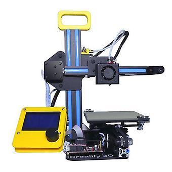 Creality 3d cr-7 diy mini impresora 3d de alta densidad hogar kit de escritorio personal 1.75mm 0.4mm boquilla