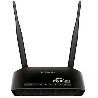 D-Link dir-605l Router schnell esthernet Wireless 300mbps integrierte Firewall schwarze Farbe