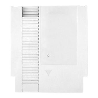 Compatible replacement game cartridge shell case for nintendo nes - white