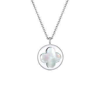 Elli Silber Anhänger Halskette 0102211218_45